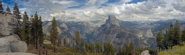 Yosemite - Panorama From Glacier Point