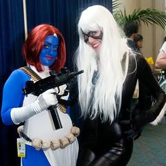 Mystique and Black Cat