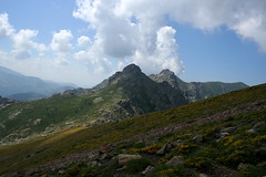 Traversée de la crête entre Bocca di Saltu et di Guagnerola