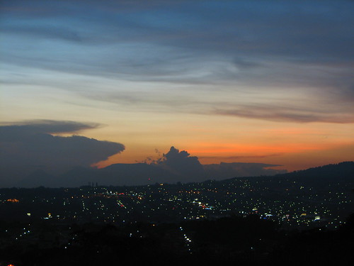 sunset atardecer luces ciudad salvador elsalvador sansalvador santatecla neoslv