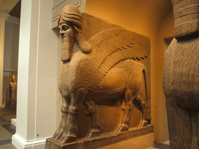 Assyrian Temple Guardian | Flickr - Photo Sharing!