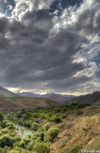 sky cloud mountain tree canon river landscape spring iran wide sigma iranian 1770 kurdistan kavan kordestan 400d