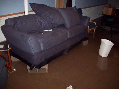 Basement flood, Day 2