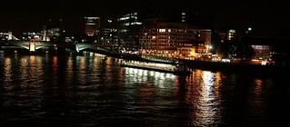 London: River Thames :Bathed in Light