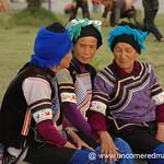 Chatting Hani Women - Yunnan, China