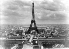 Eiffel tower & Exposition Universelle, Paris, 1889
