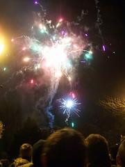 Hebden bonfire 2008