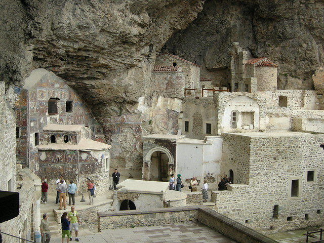 Sümela Monastery - The Virgin Mary Church