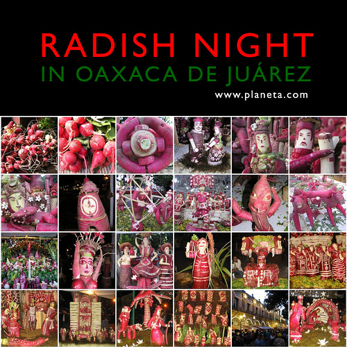 Your Radish Advent Calendar: Oaxaca's Carved Radishes #mexiconow