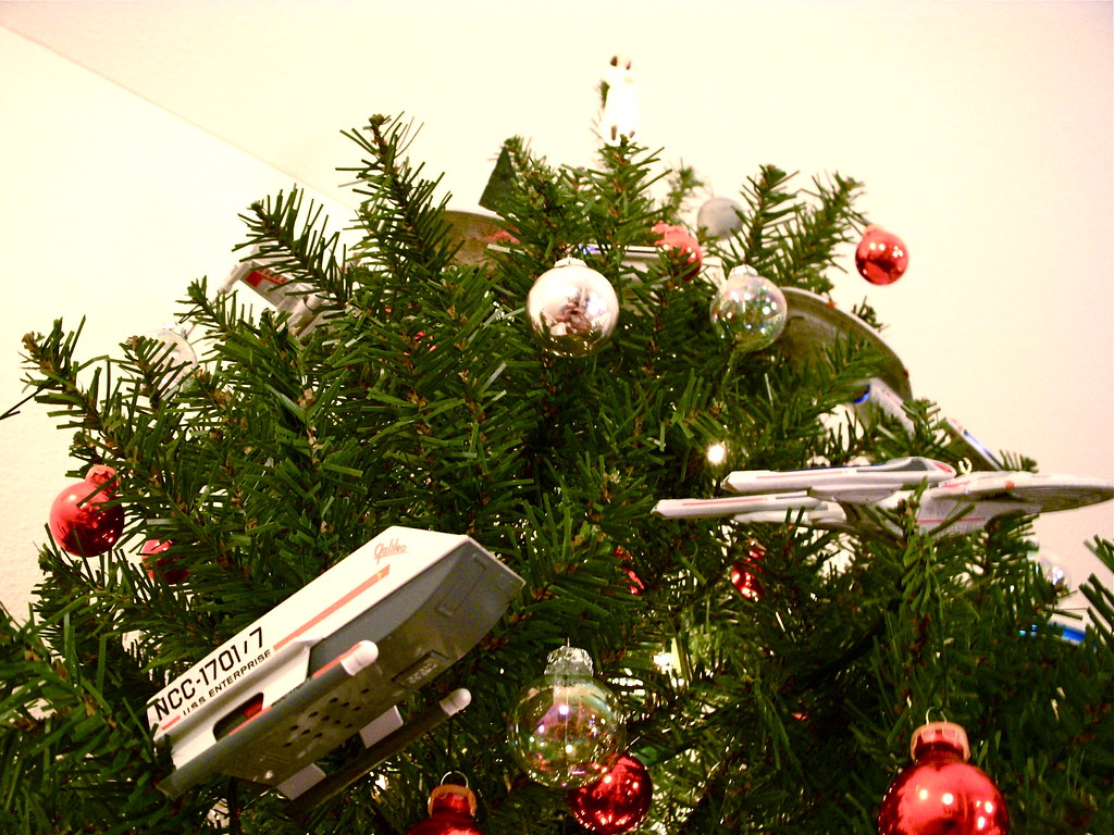 Starship Christmas Tree 4