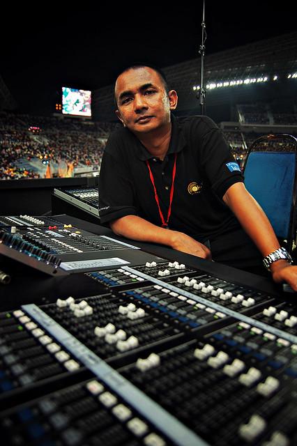 The sound engineer (DSC_8998)