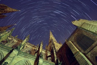 Cathedral Startrails