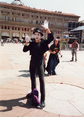 carnival mime