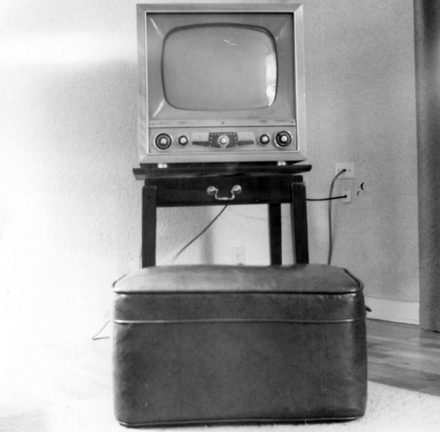 Early 1950's Television Set