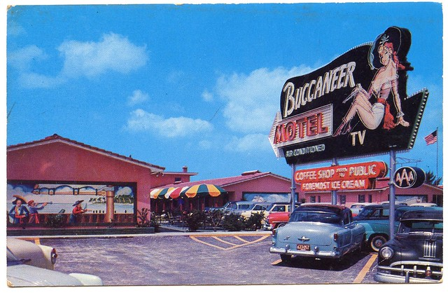 Buccaneer Motel - Treasure Island, Saint Petersburg, Florida U.S.A.