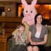Grey, Bronte and the Easter Bunny