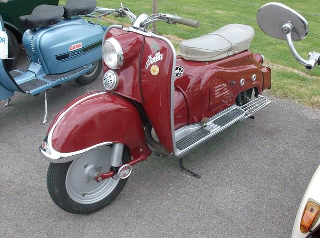 classic scooter zundapp bella