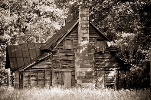 Abandoned home near Geraldine AL