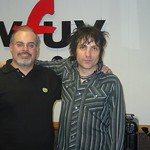 Jesse Malin at WFUV with Darren DeVivo
