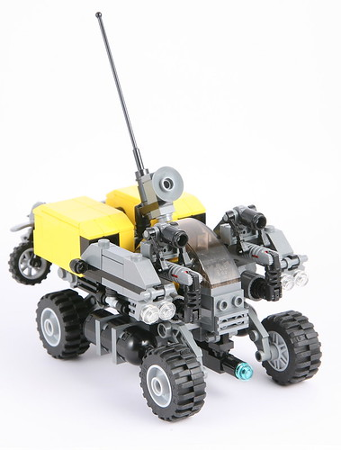 Geological research and exploration vehicle