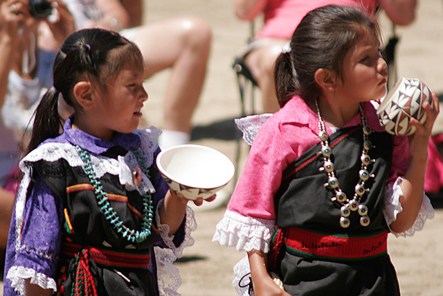 Youngest Acoma Dancers