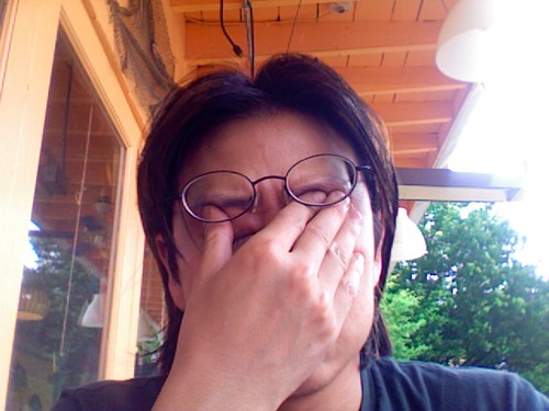 My Real Facepalm