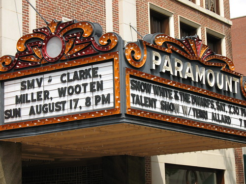 Paramount Theater Marquee