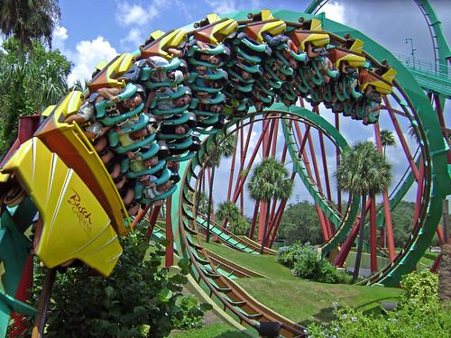 tampa ride upsidedown action rollercoaster coaster corkscrew themepark buschgardens buschgardenstampa ruleofthirds tampaflorida kumba popularphotography buschgardensafrica kumbarollercoaster bolligerandmallibard