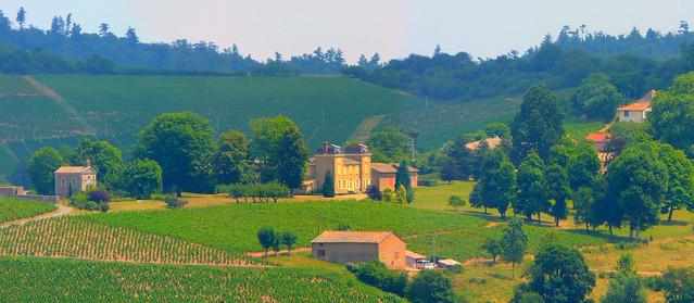 Petit Chateau du Beaujolais ©by styeb via flickr