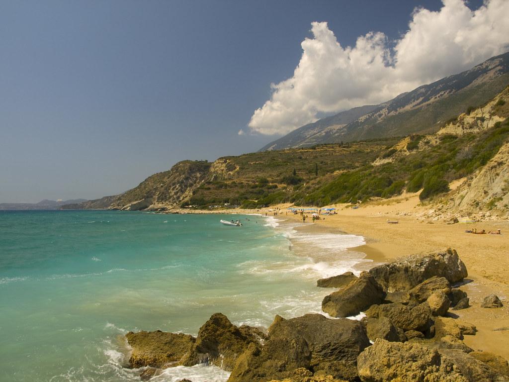 Koroni пляж