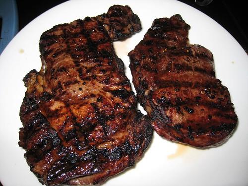 grass fed, beef, ribeye, steak, grain fed IMG_5751