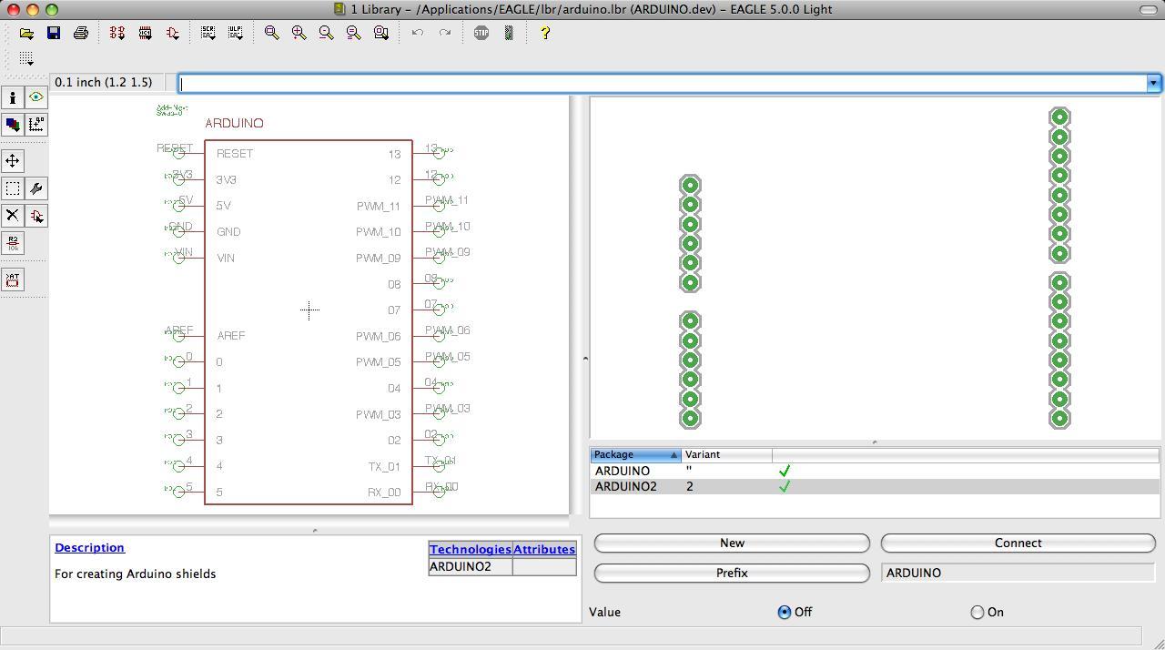 Cómo hacer su propio escudo de pcb arduino circuito impreso