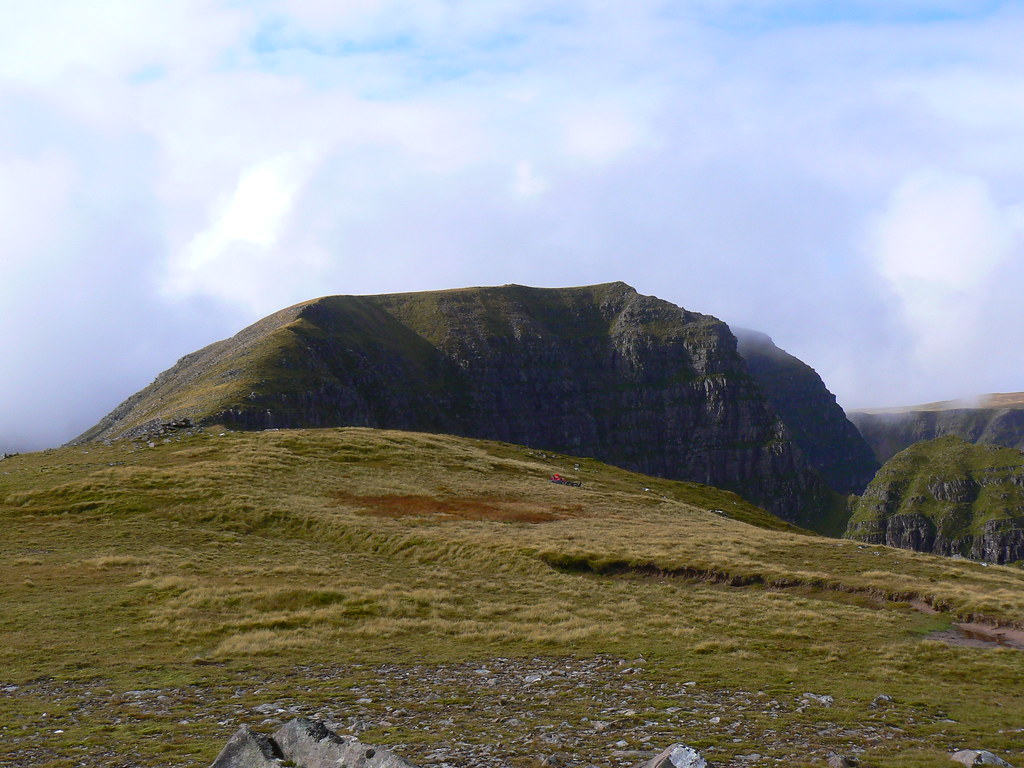 Looking back to Beinn Bhan