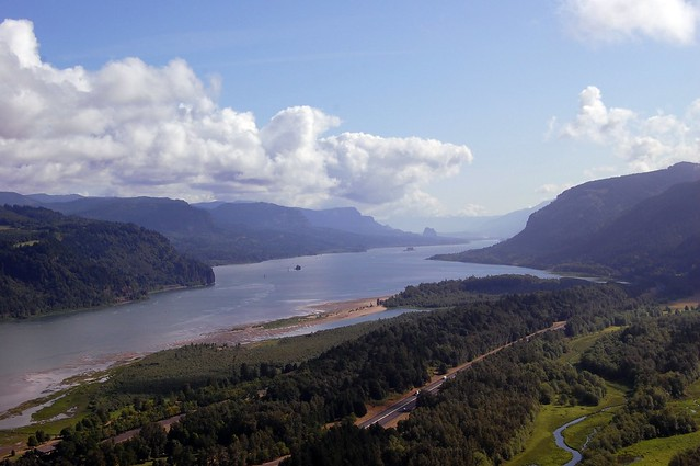 Columbia River Gorge (Corbett, Oregon)