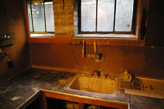 slop sink basement flickr photo sharing