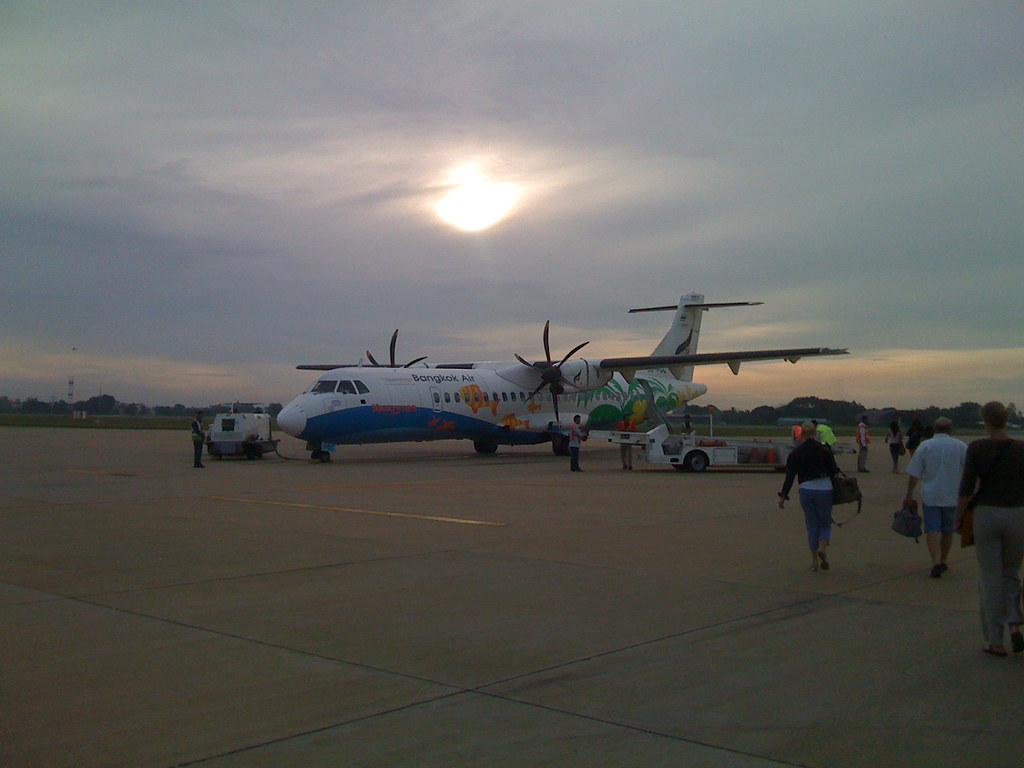 Propeller Plane to Siem Reap