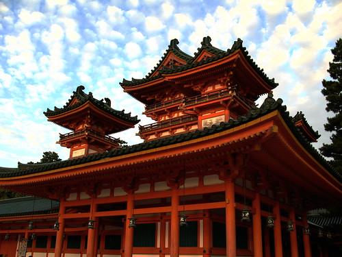 Heian Shrine, Kyoto by jhandelman