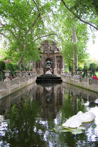 Luxembourg gardens europe a la carte travel blog - Jardin du luxembourg statue of liberty ...