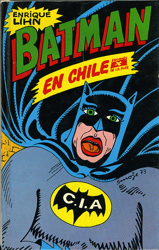 Batman en Chile Cover