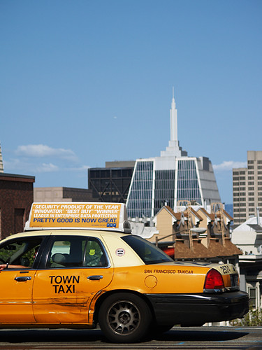Yellow cab in San Francisco  Flickr  Photo Sharin