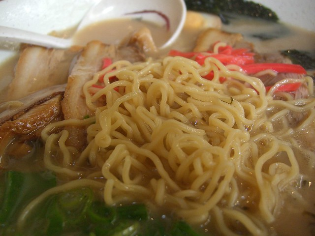 Ramen noodles close-up - Ramen Ya