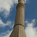 One of the minarets of Hagia Sophia in Istanbul