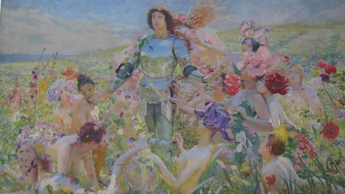 I fiori e il cavaliere