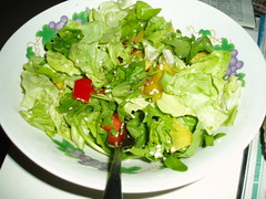 Salad w/ mango