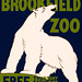 Visit the Brookfield Zoo, WPA poster, 1936
