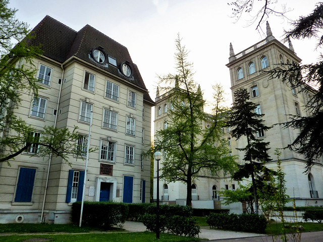 La cit universitaire la maison des tudiants su dois et for Maison de norvege cite universitaire