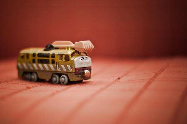 Diesel 10. Thomas and friend // uno de los favoritos de mi hijo.