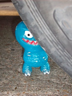 Hiding Behind the Tire