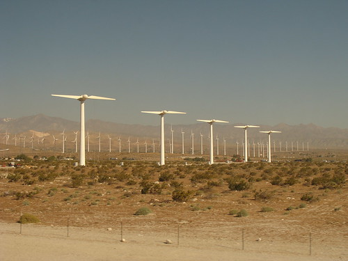 Two sail wind turbines