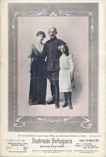 Ilustração Portugueza, No. 482, May 17 1915 - cover